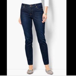 Talbots sz 12 Straight Leg Jeans Flawless 5 Pocket